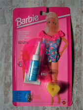 Vintage   Barbie   Salle De Bain Painting Baignade Maillot   Mattel Ensemble