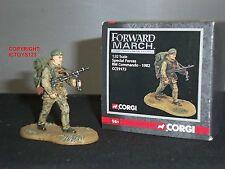 Corgi CC59173 avance fuerzas especiales británico Royal Marine Comando 1982
