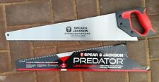 "Spear and Jackson Professional Predator Hand Saw 22"" Hardpoint Universal *2"