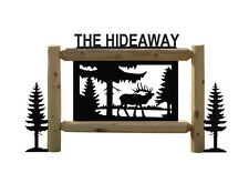 Personalized Elk Sign