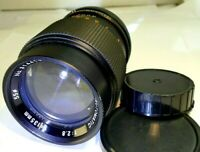 Dejur 135mm f2.8 Lens Prime telephoto for Canon FD mount AE-1 manual focus