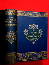1912 ~ THE VICAR OF WAKEFIELD ~ GOLDSMITH  / COLOR ILLUSTRATIONS, GILT PG. EDGES