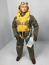 1/6 DRAGON US FIGHTER PILOT WW2 FULL PARACHUTE US AIR FORCE P-51 P-40 BBI DID RC