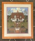 Bach's Magnificat In D Minor - Charles Wysocki Framed Print/ Signed/ Numbered