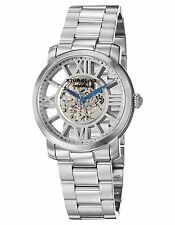 NEW Stuhrling Original 280B.33112 Mens Winchester Decorum Auto Skeleton SS Watch