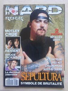 Hard Rock Magazine Nov 1993 Max Sepultura Motley Crue w/Posters Metallica Queen