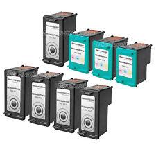 8 PK 74XL 74 75XL 75 HY Black & Color Printer Ink Cartridge for HP Deskjet D4363
