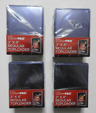 """ULTRA PRO TOP LOADERS - CLEAR - 3 X 4 INCH (X100)  - """"IN STOCK NOW**  - FREE P&P"""