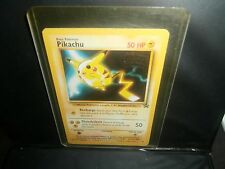 Pokemon KIDS WB (GOLD STAMPED) PIKACHU! BLACK STAR PROMO! SALE !