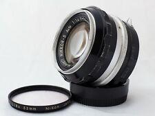 Nikon Nikkor-S Auto 50 mm f/1.4 pre-AI lens, Nippon Kogaku Japan NKJ