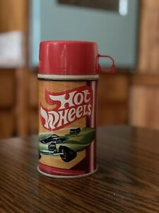 Vintage 1969 HOT WHEELS Lunchbox Thermos