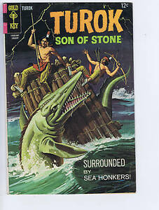 Turok Son of Stone #60 Gold Key Pub 1967