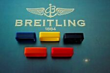 22MM KEEPER FOR BREITLING RED RUBBER OCEAN RACER PRO DIVER'S WATCH BAND STRAP