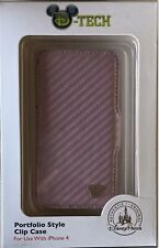iPhone 4 Case LEATHER Mickey Mouse Disney Park Cruise D-Tech EXTREMELY RARE!!