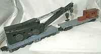 American Flyer No. 944 Brownhoist Crane & No. 24546 Work Caboose