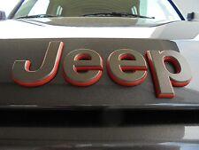 2016 Jeep Patriot New Front 75th Jeep Nameplate Emblem Bronze & Red Mopar Oem