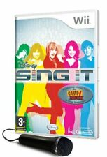 Disney Sing It with Microphone (Wii) - Game  SEVG The Cheap Fast Free Post