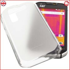 Protective case for CAT S60 rubber TPU mobile phone cover transparent white