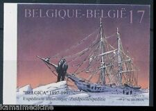 Belgium 1997 MNH Imperf, Ships, Antarctica Expedition  (D71)