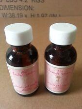 2- THE HEALING GARDEN JASMINE THERAPHY SENSUAL AROMA OIL 1 oz. Each