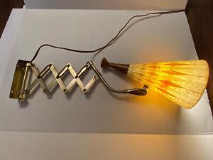 Rare Mid Century Scissor Lamp