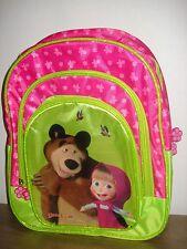 "Backpack ""Masha and the Bear. Butterflies"" (light) 5-10 years (Masha i Medved)"