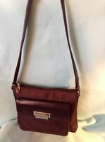 ADRIENNE VITTADINI BROWN SHOULDER HANDBAG