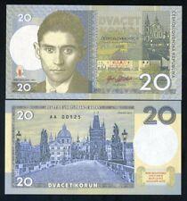 Czechoslovakia, 20 Korun, 2019 Private Limited issue - Franz Kafka