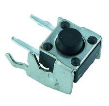 50 X 6x6mm ángulo recto interruptor momentáneo PCB Táctil 4.3mm
