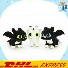 1SET. TOOTHLESS'S CHILDREN.How to Train Your Dragon 3 Movie Doll Plush Soft Toys