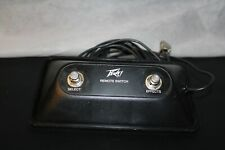 Peavey remote switch pedal For Guitar Amp Select/Effects - Reverb 10401967