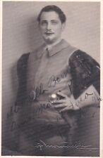 BRUNO LANDI opera tenor signed photo as the Duke of Mantua