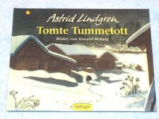 TOMTE TUMMETOTT ►►►ungelesen ‹^^›‹(•¿•)›‹^^›von Astrid Lindgren, Harald Wiberg