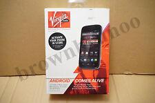 ZTE Awe N800 Black 4GB Virgin Mobile Prepaid No Contract Smartphone NEW