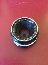 Nikon NIKKOR-H Auto 50mm F2 Non-AiLens **Excellent+**
