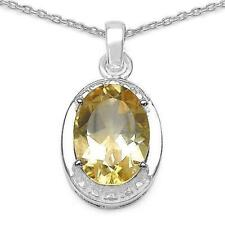 Gold Natural Sterling Silver Fine Necklaces & Pendants