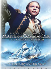 Master and Commander - The Far Side of the World (Full Screen Edition), New DVD,