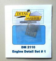 ENGINE DETAIL #1 ACCESSORIES 1:24 1:25 DETAIL MASTER CAR MODEL ACCESSORY 2110