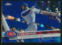 2017 Topps Chrome Sapphire #1 Kris Bryant Chicago Cubs