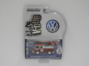 1:64 1968 Volkswagen Type 2 Double Cab Pickup with 1920 Indian Scout Motorcycle
