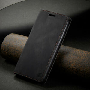 For iPhone 13 12 Pro Max XR XS SE 6S 7 8 Leather Wallet Case Magnetic Flip Cover
