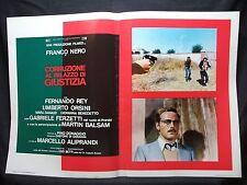 FOTOBUSTA CINEMA - CORRUZIONE AL PALAZZO DI GIUSTIZIA - FRANCO NERO - 1975 - 08