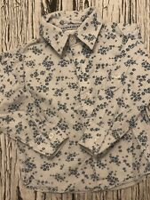 18-24 Months Baby Boys The Little White Company Floral Shirt Long Sleeved White