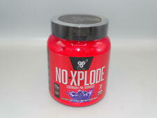 BSN N.O.-XPLODE Pre-Workout Supplement with Creatine Grape, 30 Servings *NEW*