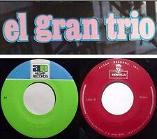 """EL GRAN TRIO 10 Latin 7"""" 45 RPM Singles ALGAR MONTILLA RECORDS"""