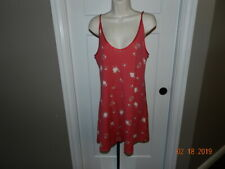 PRIVATE LUXURIES RED FLoral LINGERIE GOWN NIGHTGOWN XXL NWT