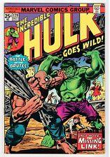 Marvel - THE INCREDIBLE HULK  #179 - VG 1974 Vintage Comic