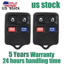 2pcs Keyless Entry Remote Car Key Fob Transmitter For Ford Expedition Lincoln