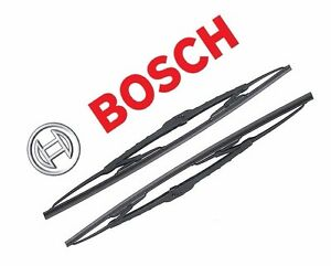 "For Dodge Chevy GMC Set of 2 Front Windshield Wiper Blade 22"" Bosch Excel+ 41922"