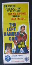 THE LEFT HANDED GUN '58 Orig Australian daybill movie poster Paul Newman western